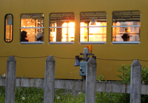 sunset train.JPG